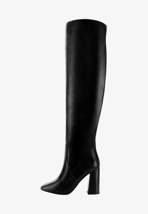 PERLOZ  - Over-the-knee boots - black
