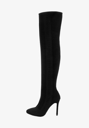 ANOIA - High heeled boots - black