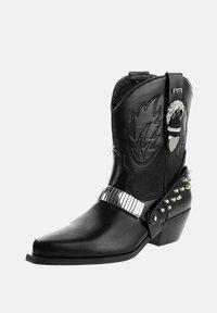 PRIMA MODA - SAGRADO - Korte laarzen - black - 1
