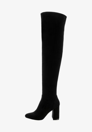 TAINO - Overknee laarzen - black