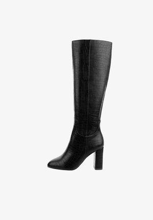 DEANGELIS - High heeled boots - black