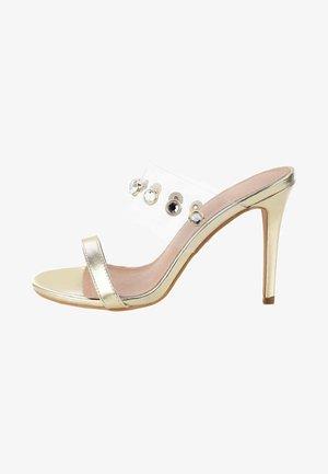 LABOTTA - High heeled sandals - gold