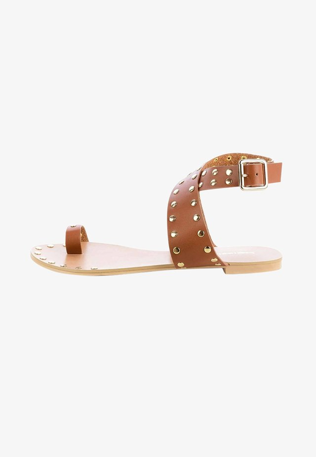 GARGNANO - Sandals - brown