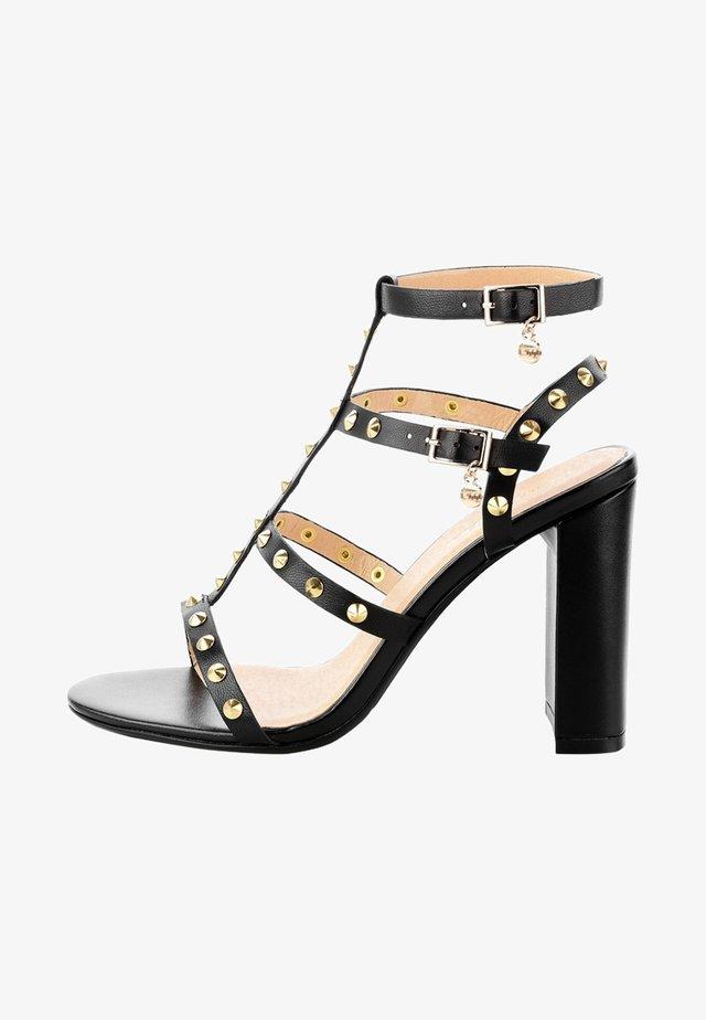 AVERSA  - High heeled sandals - black