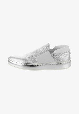 DALMINE - Slip-ons - silver