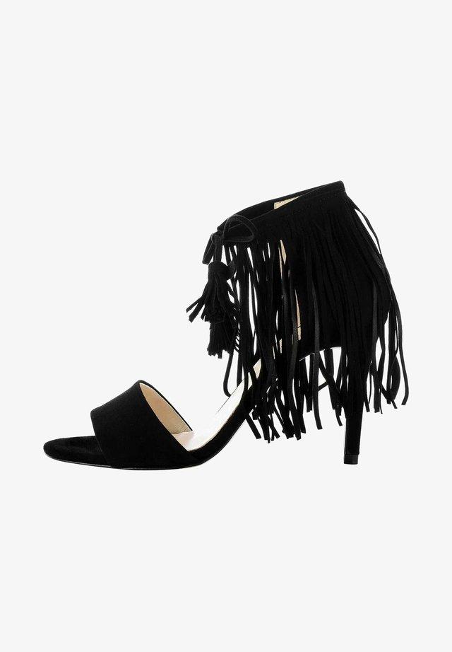 NEBBIONE - Sandaletter - black