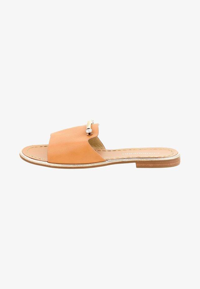 UZZIRIANO  - Sandals - brown