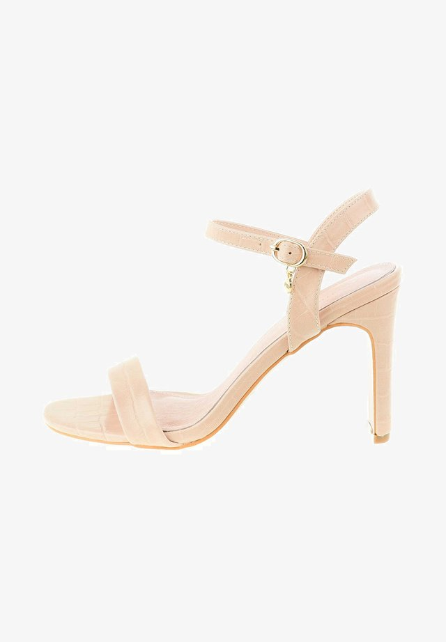 SALITTO - Korolliset sandaalit - beige