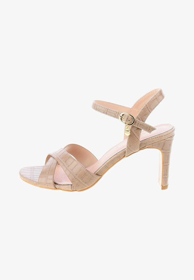 VIBIERENE - Varrelliset sandaalit - beige