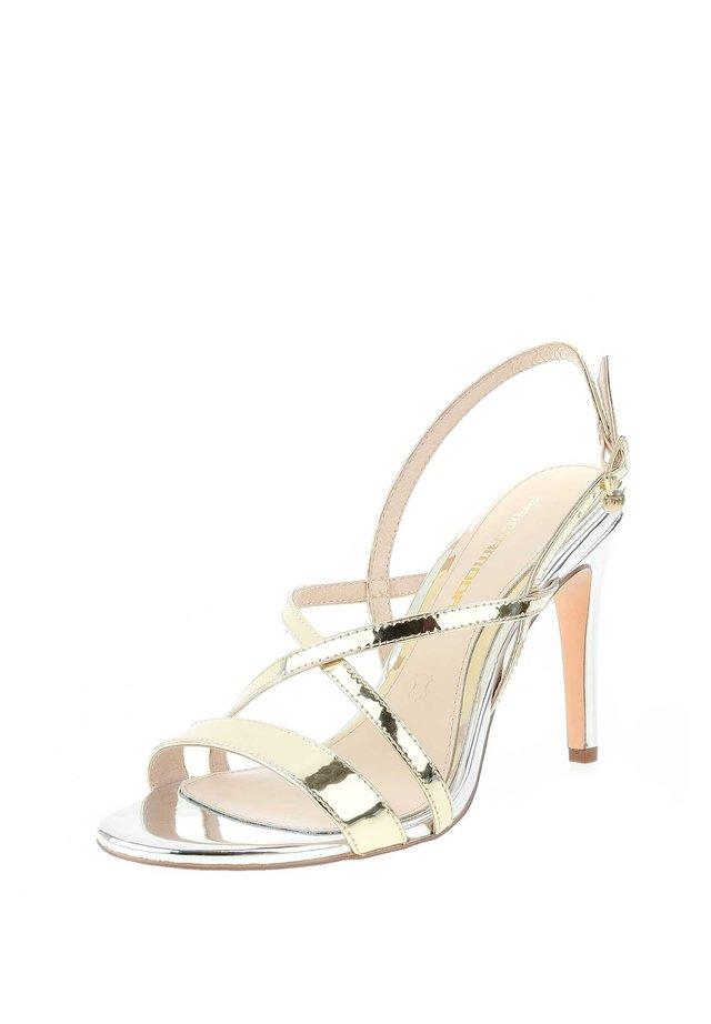 VALVERDE  - High Heel Sandalette - platynowy