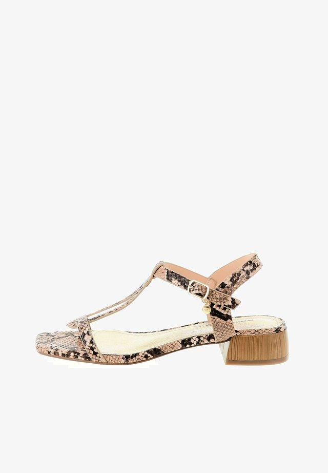 SPINO - Sandals - braun