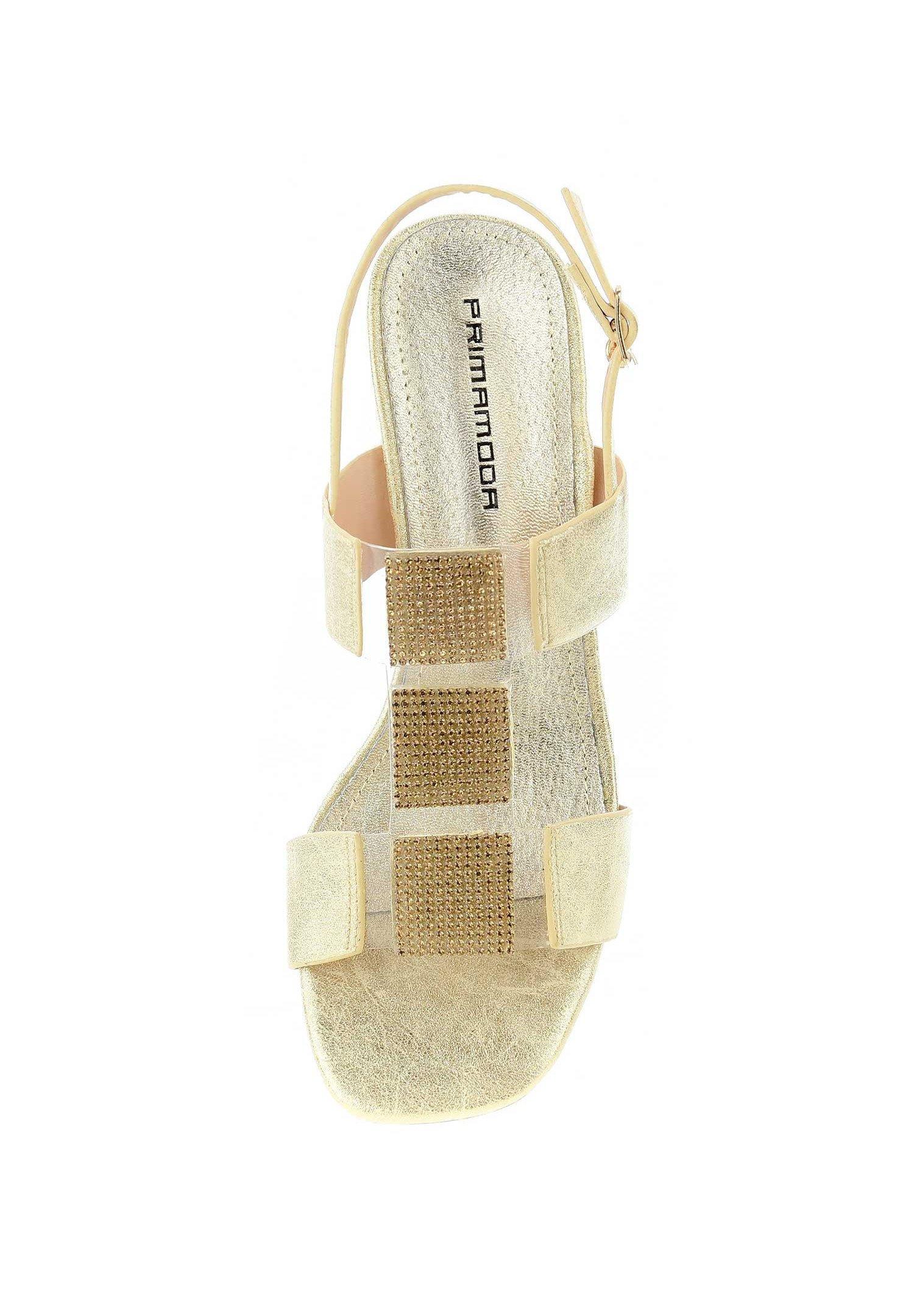 PERGANO Sandaler platinum