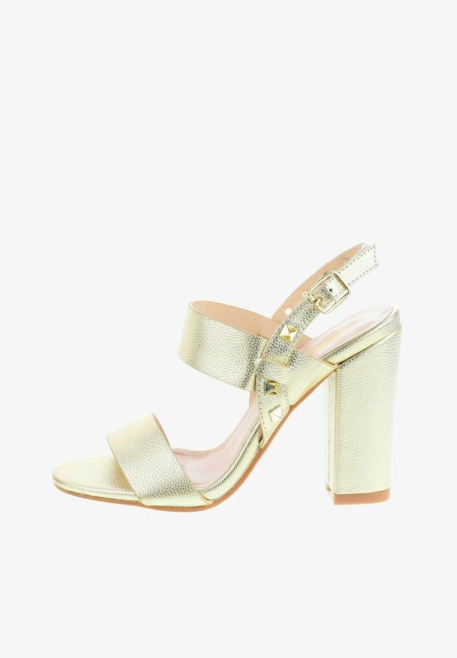 SOTTANO - High heeled sandals - gold
