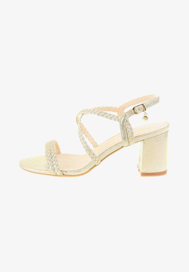 FORNELLI - Sandals - platinum
