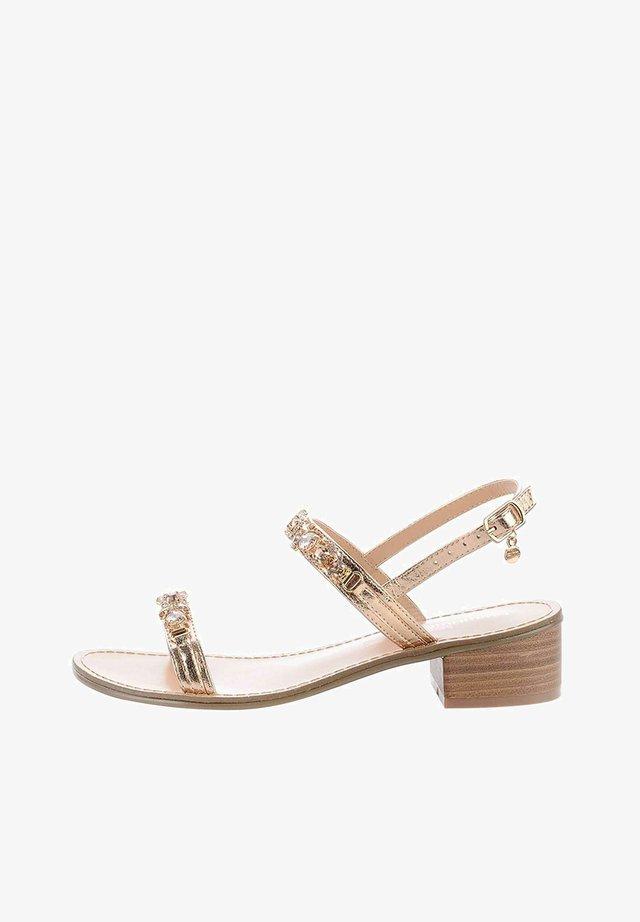 MONZA  - Sandals - złoty