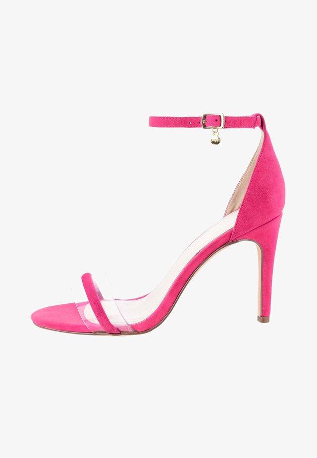 KAMMA  - Højhælede sandaletter / Højhælede sandaler - pink