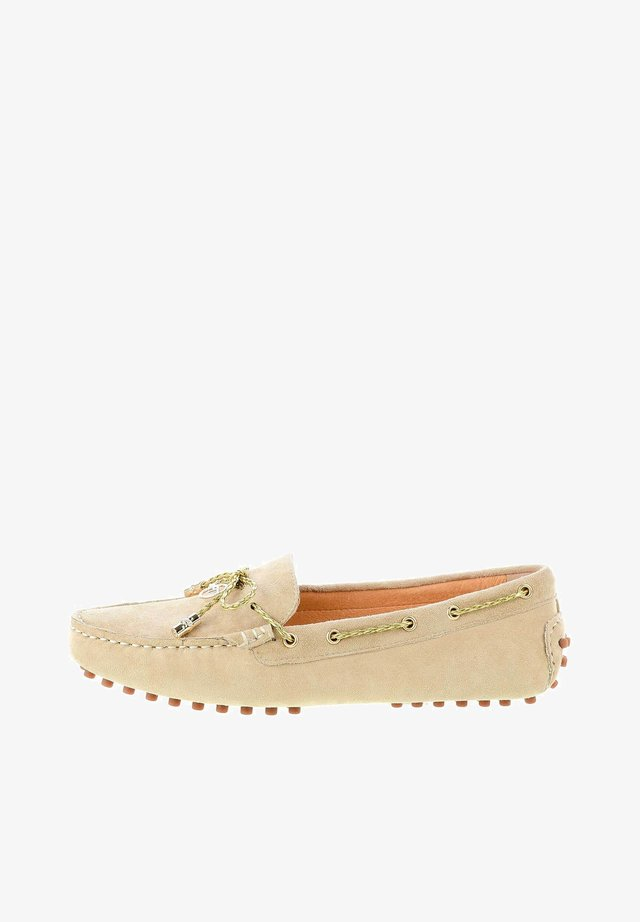 MARANELLO - Boat shoes - beige