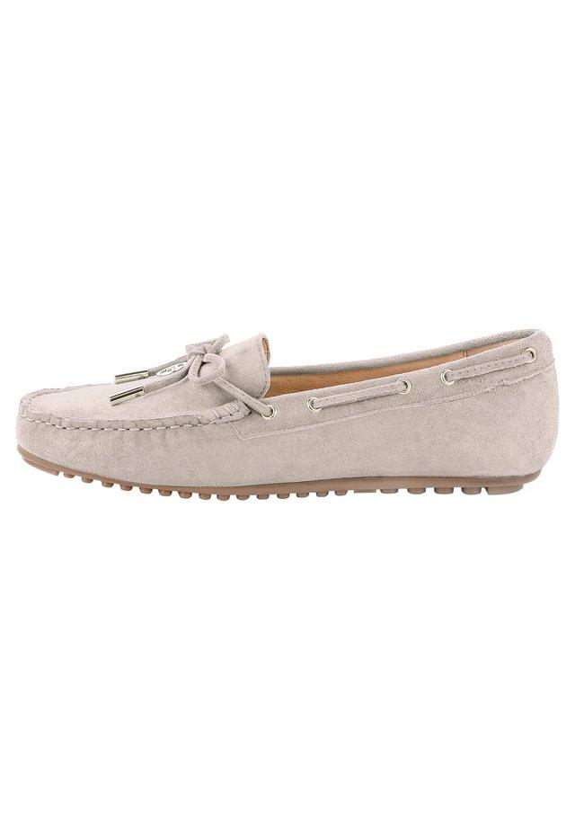 MALPAGA - Boat shoes - beżowy