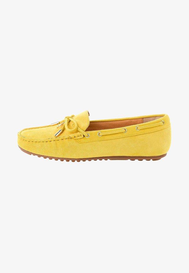 MALPAGA - Chaussures bateau - yellow