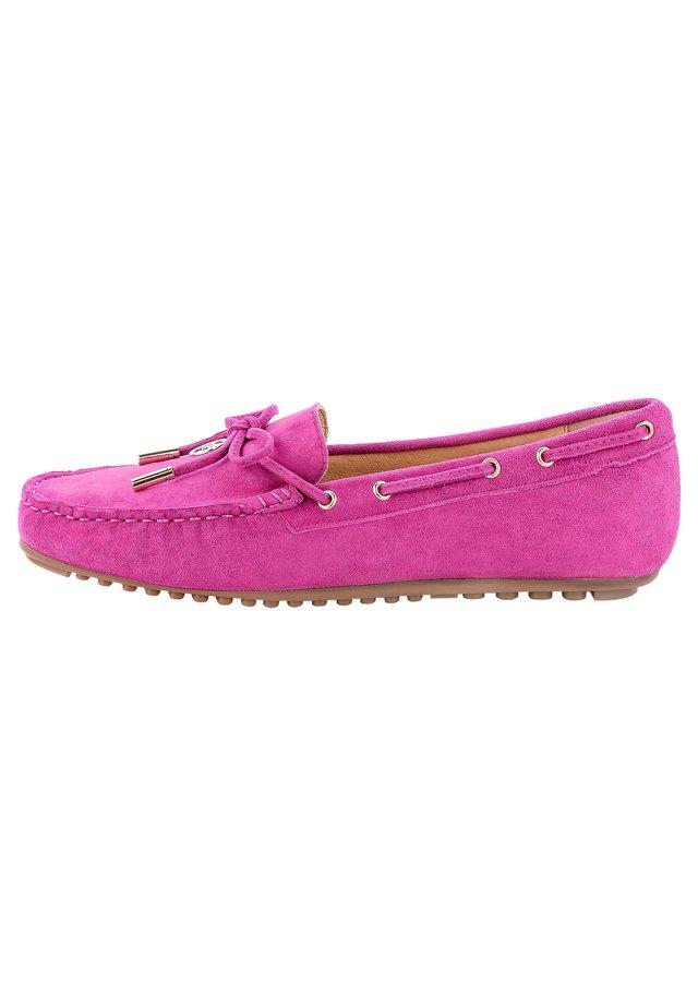 MALPAGA - Boat shoes - fuksjowy