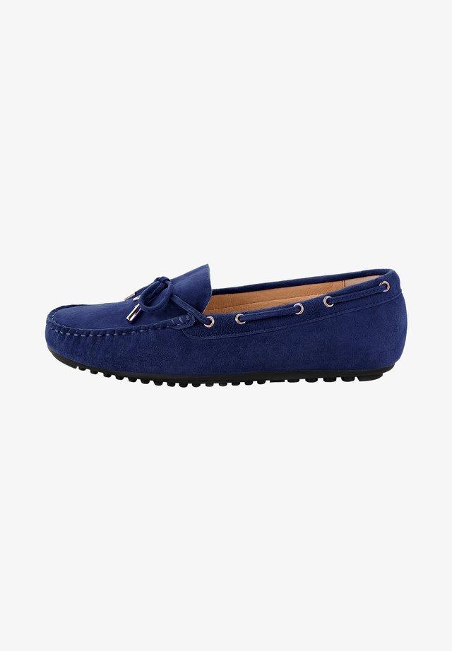 MALPAGA - Boat shoes - granatowy