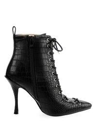 PRIMA MODA - BADOLATO - High heeled ankle boots - black - 3