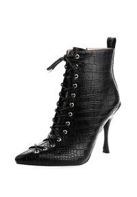 PRIMA MODA - BADOLATO - High heeled ankle boots - black - 1