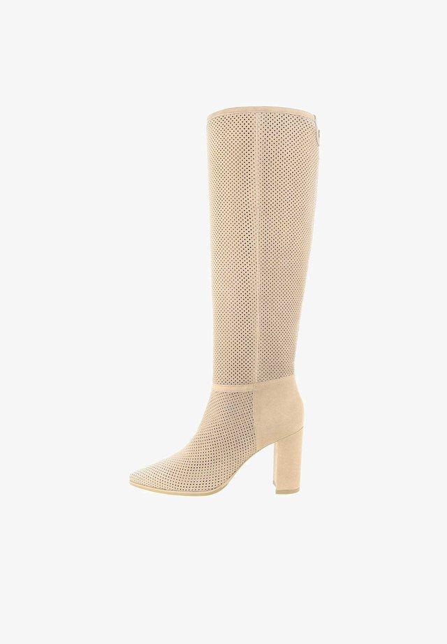 GALLENO  - High Heel Stiefel - beige