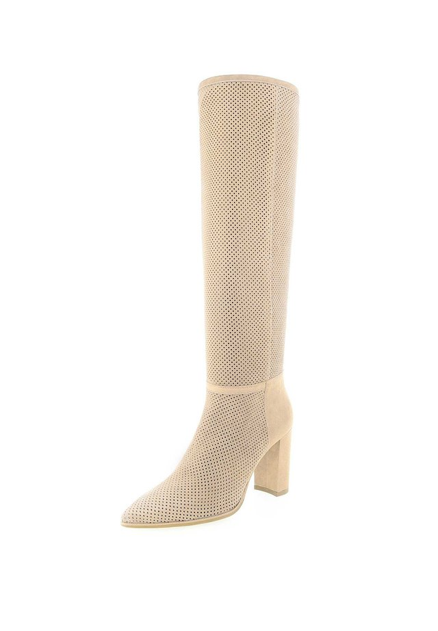 GALLENO  - High heeled boots - beige