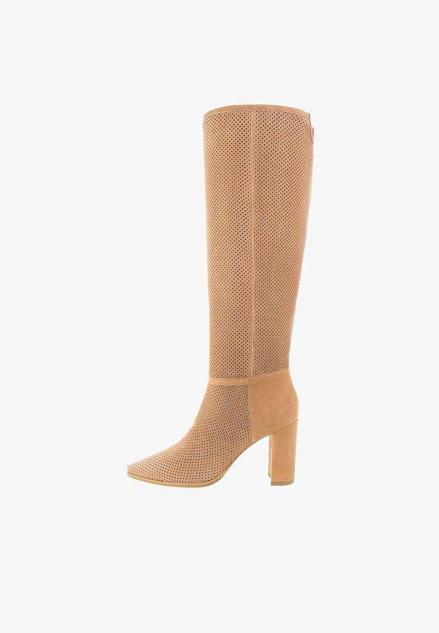 GALLENO  - High Heel Stiefel - braun