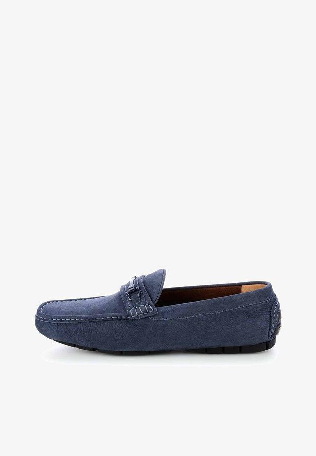 CAMINE - Mokasyny - navy blue