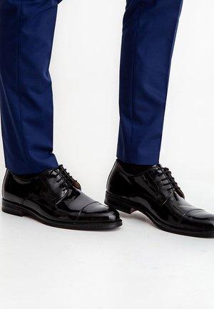 LAZIO - Smart lace-ups - black