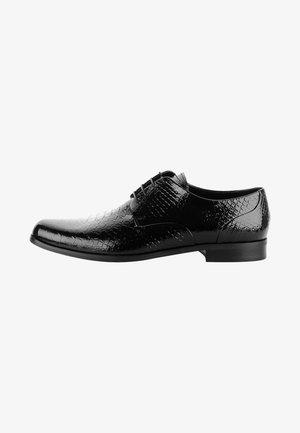 GREGGIO - Smart lace-ups - black