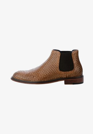 OLENGA - Classic ankle boots - brown
