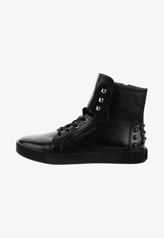AUNEDE - Höga sneakers - black