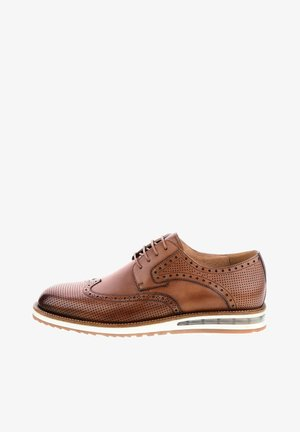 NASINO - Smart lace-ups - brown