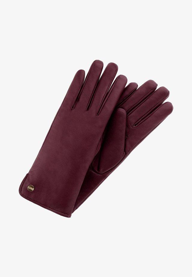PAROLISE  - Rękawiczki pięciopalcowe - bordowy