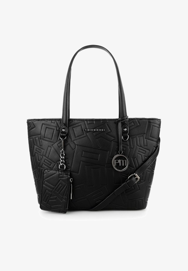BIAZA - Shopping bag - black