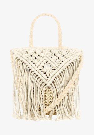 CAIRO - Shopping bag - beige
