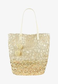 PRIMA MODA - TEGLIO - Shopping bag - beige - 0