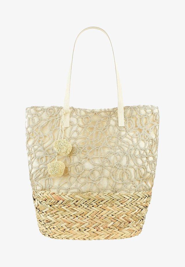 TEGLIO - Shopping bag - beige