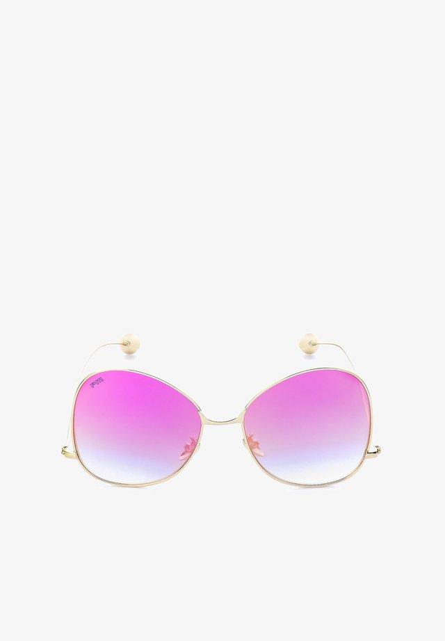 FAICCHIO - Sunglasses - różowy