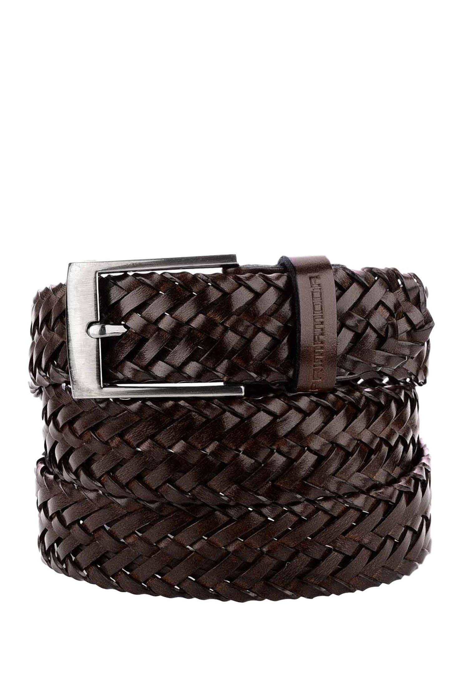 PRIMA MODA BARCIS - Braided belt - black