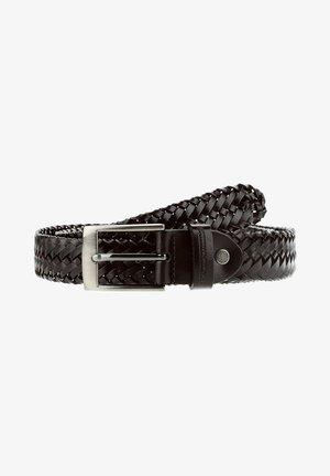 BARCIS - Braided belt - black