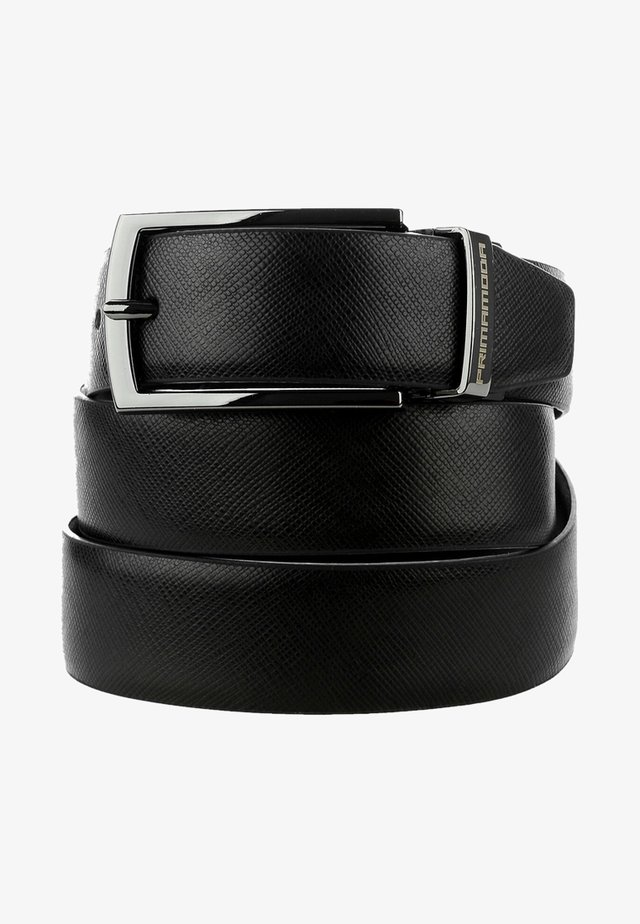 EXILLES - Belt - black/navy blue