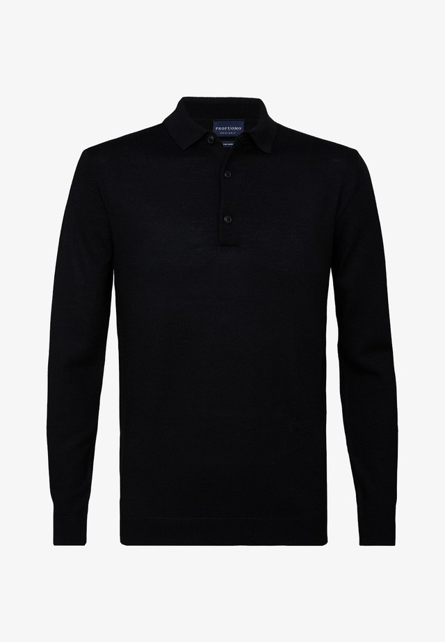 PROFUOMO - Polo shirt - black