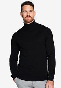 PROFUOMO - Pullover - black - 0