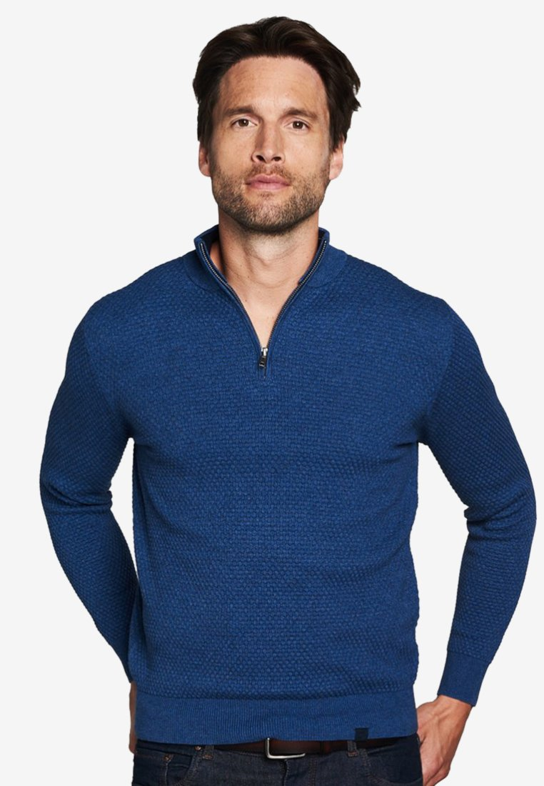 PROFUOMO Strickpullover blue