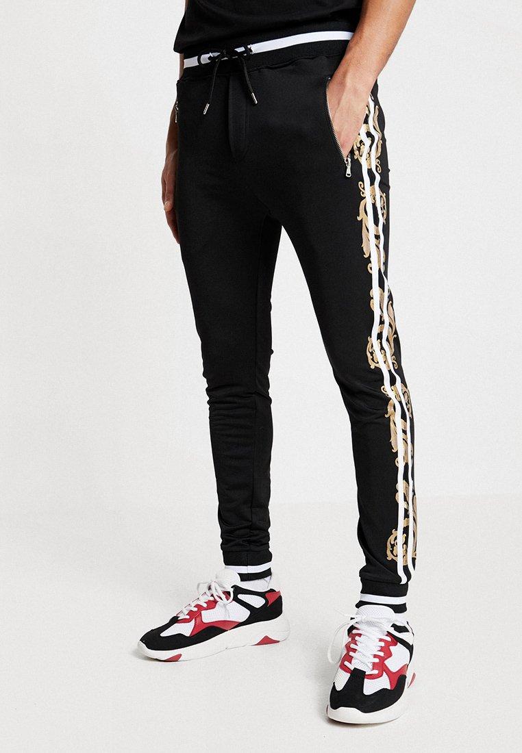 Project X Paris - BAROQUE TRACKSUIT - Pantaloni sportivi - black
