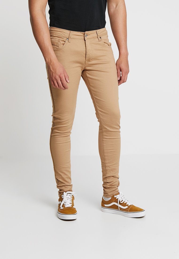 Project X Paris - PANTS WITH SIDE PIPING  - Trousers - beige